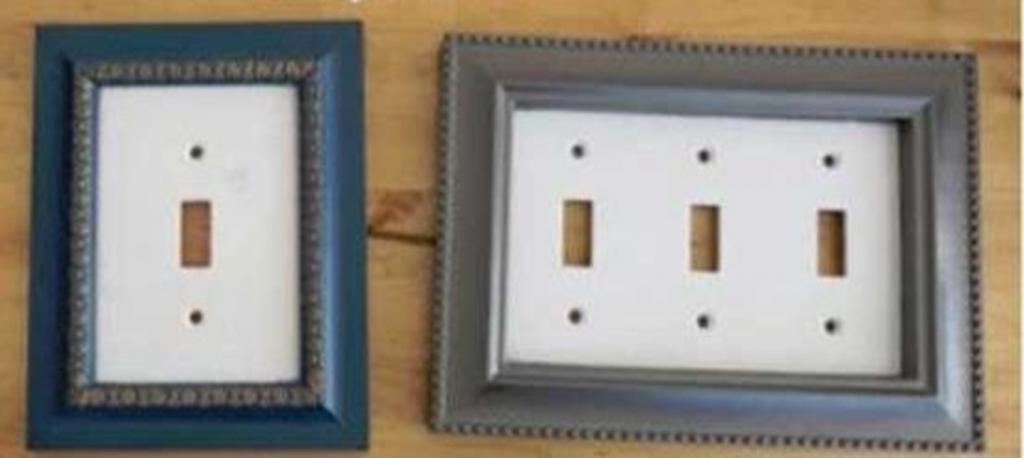 Подружка самостоятельно сняла все крышки выключателей в доме и стильно украсила их