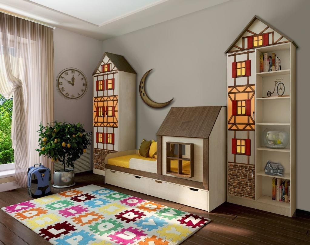 Шатер, шалаш или крепость: в каждой детской комнате должен быть красивый и уютный домик для игр или сна