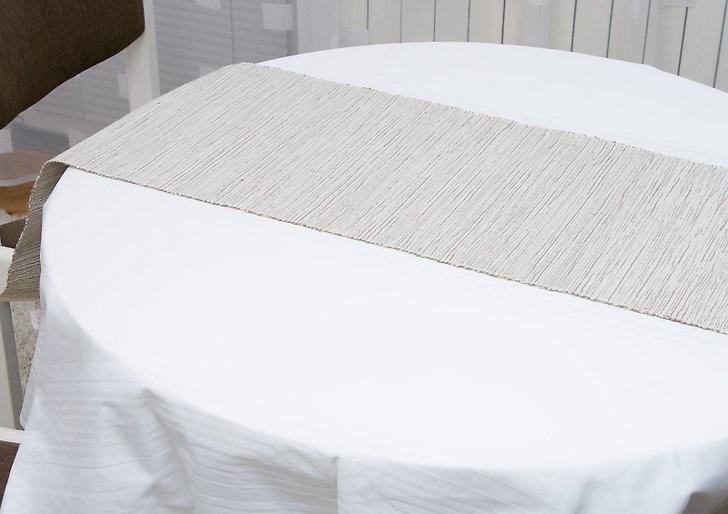 Как накрыть в новогоднюю ночь праздничный стол в белых тонах