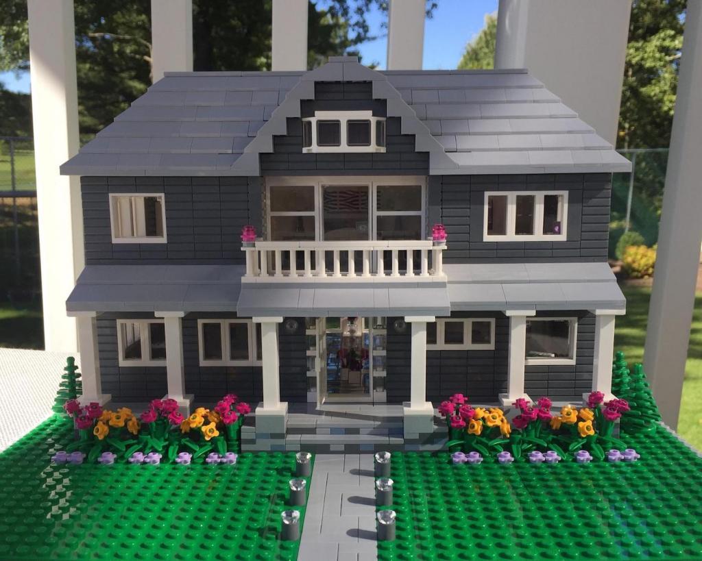 Лего самодельный дом | Лего от Олега | 819x1024