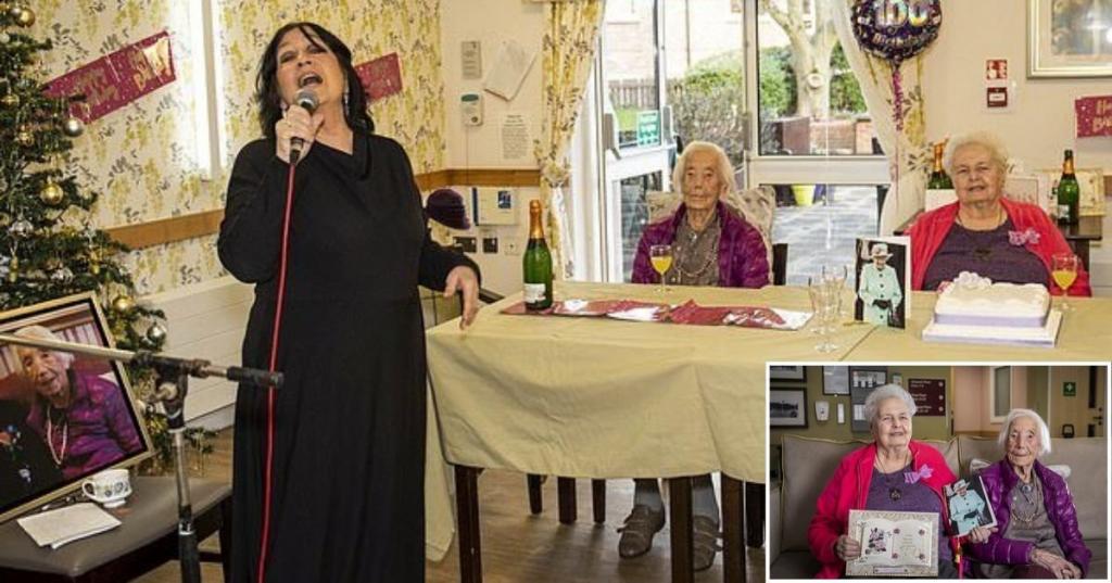 Женщина отпраздновала свое 100 летие со 108 летней сестрой: история их жизни