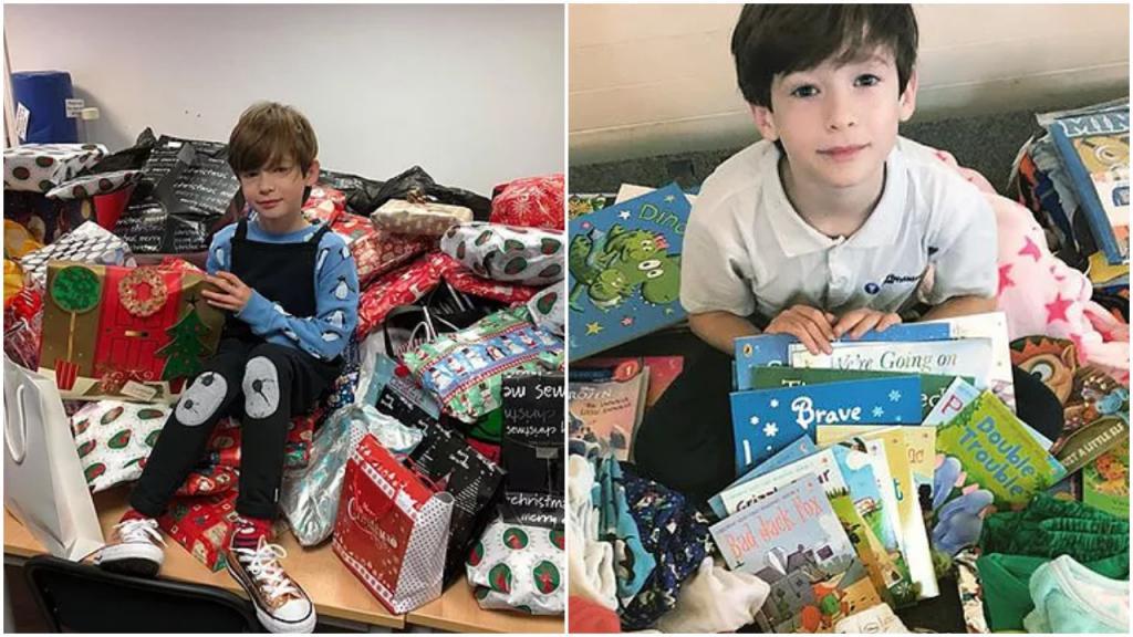 Его зовут Доминик: 10 летний мальчик собирает через свой сайт пижамы и книги, чтобы подарить детям в приютах