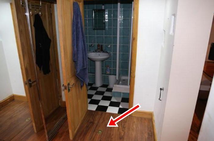 Парень случайно обнаружил кладовку в купленном доме. Разбирая хлам, увидел, что им прикрыта лестница, ведущая вниз