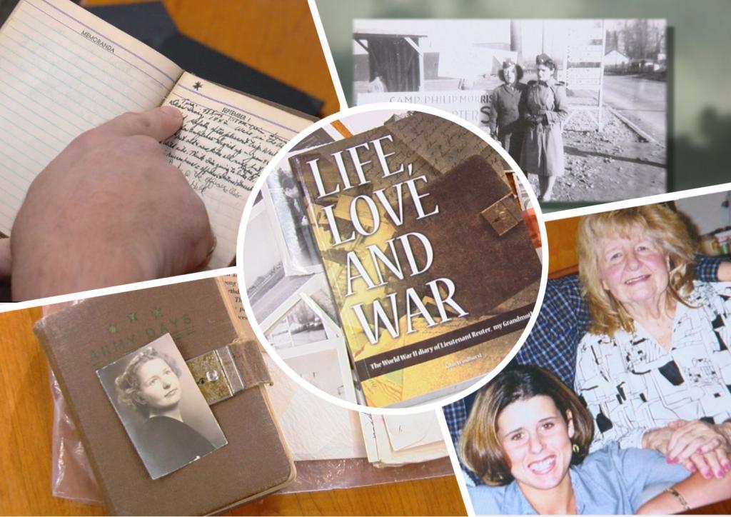 Жизнь, любовь и война : американец нашел дневник своей бабушки и по нему создал книгу