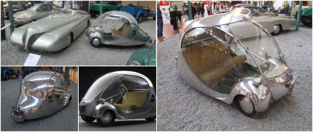 «Электрическое яйцо»: футуристический электромобиль 1942 года был создан на базе «Бьюик»