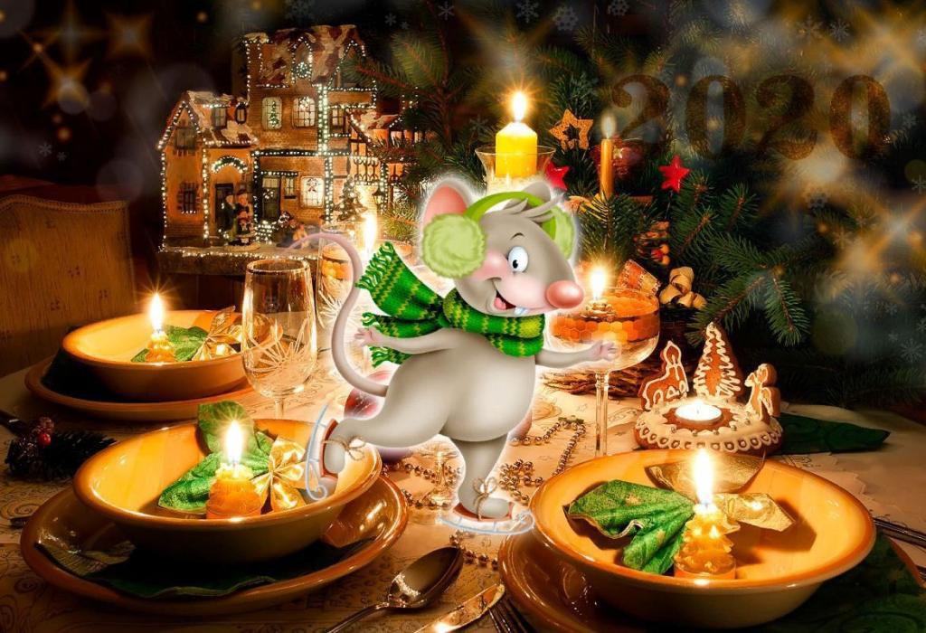 Чернослив, яйца, орехи: 3 новогодних блюда, которые точно понравятся покровителю года   Белой Крысе