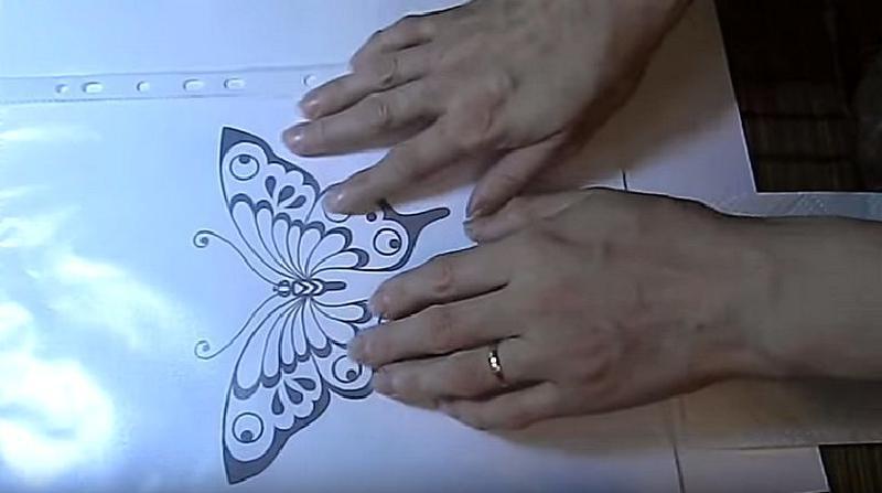 Кондитерские секреты: как сделать шоколадную бабочку благодаря обычному рисунку