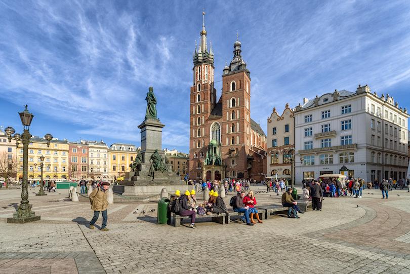Краков - одно из лучших направлений для путешествия зимой: Барбакан, Казимеж, Вавель и другие достопримечательности