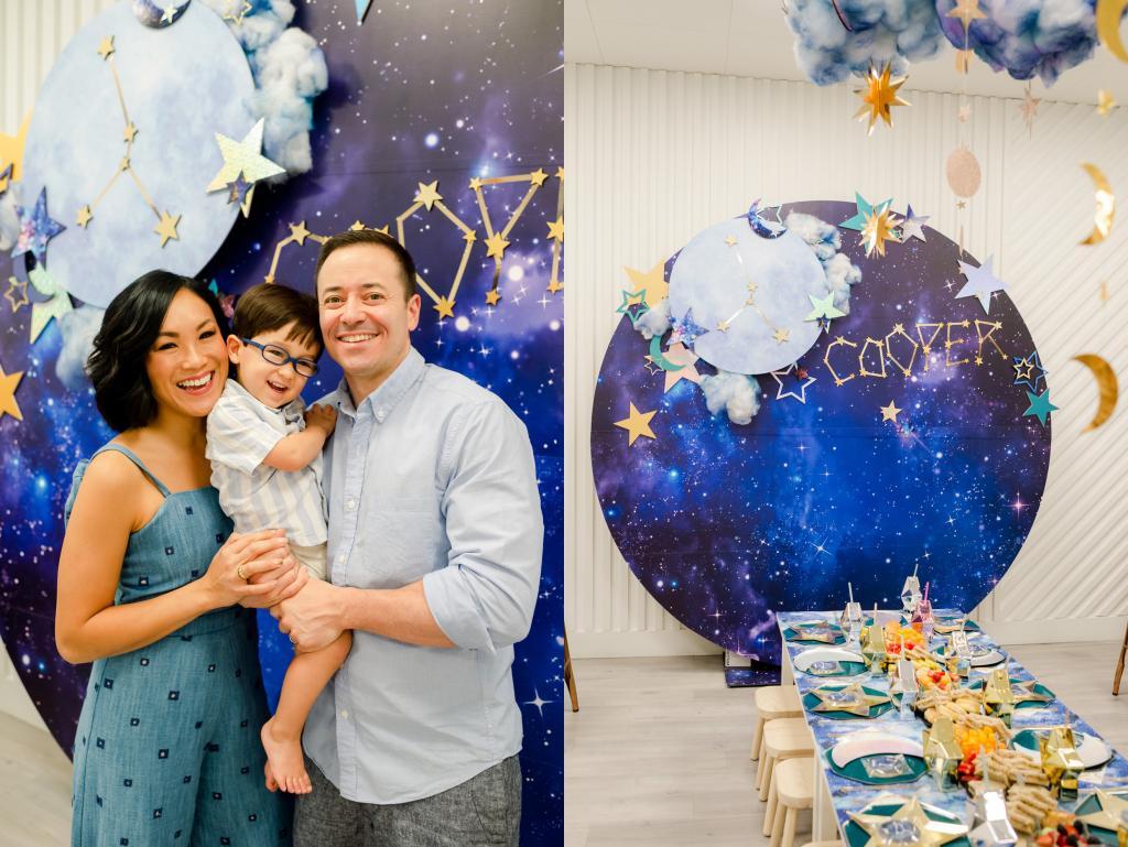 Праздник межгалактического уровня: родители устроили сыну день рождения в звездно космической тематике