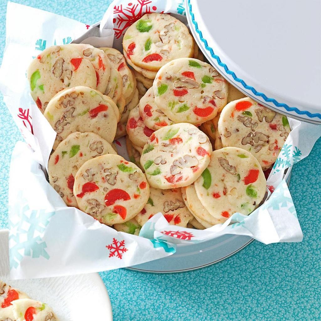 Простое, но вкусное печенье  Вишневые ломтики , которое я часто готовлю зимой: рецепт