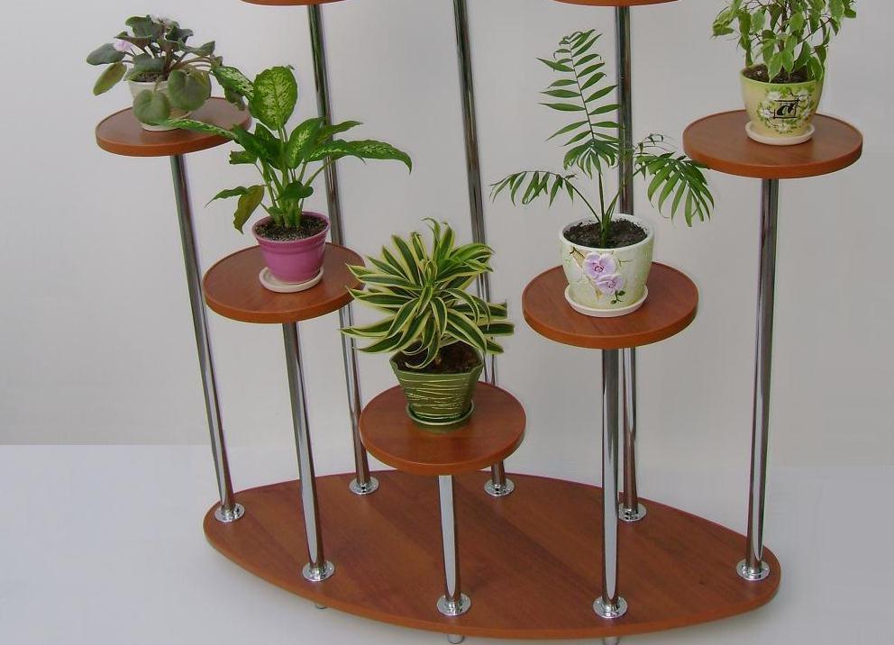 Всем любителям комнатных растений: стильные, удобные полочки. Какой отдать предпочтение