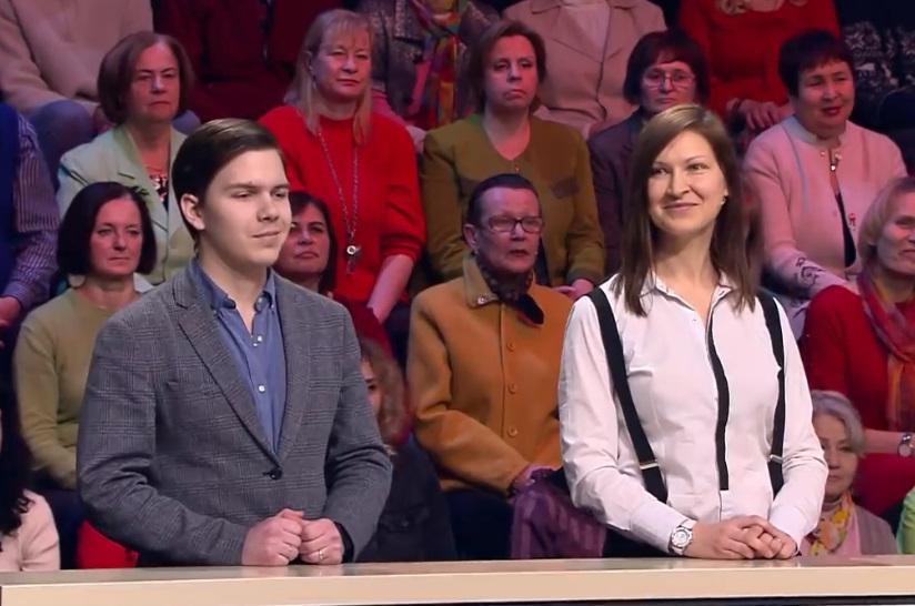 После работы стилистов  Модного приговора  супруги стали выглядеть как мама и сын