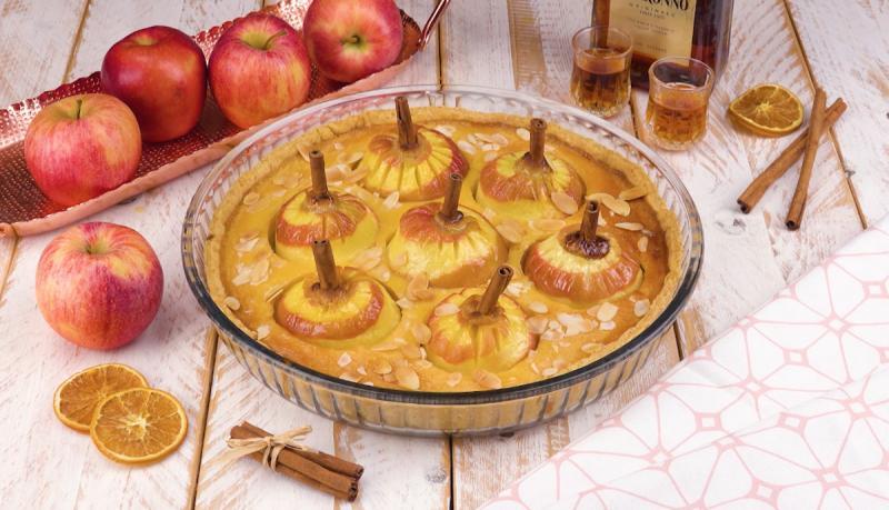 Ставлю яблоки в тесто целиком - и в духовку: рецепт потрясающего десерта