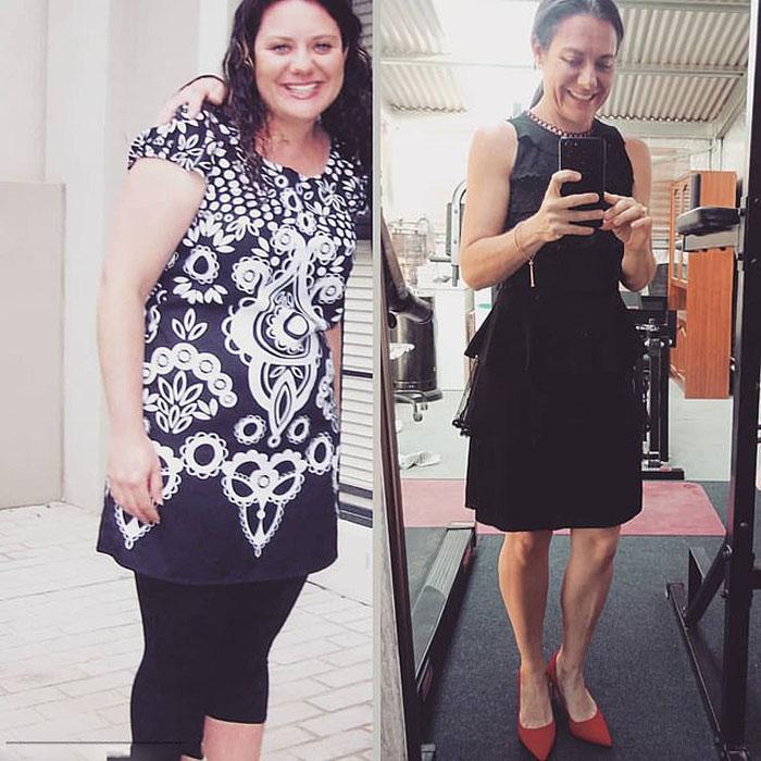 Анжела ела много сладкого, и ее вес увеличивался: теперь у нее новая диета, она бегает и похудела на 50 кг (фото)