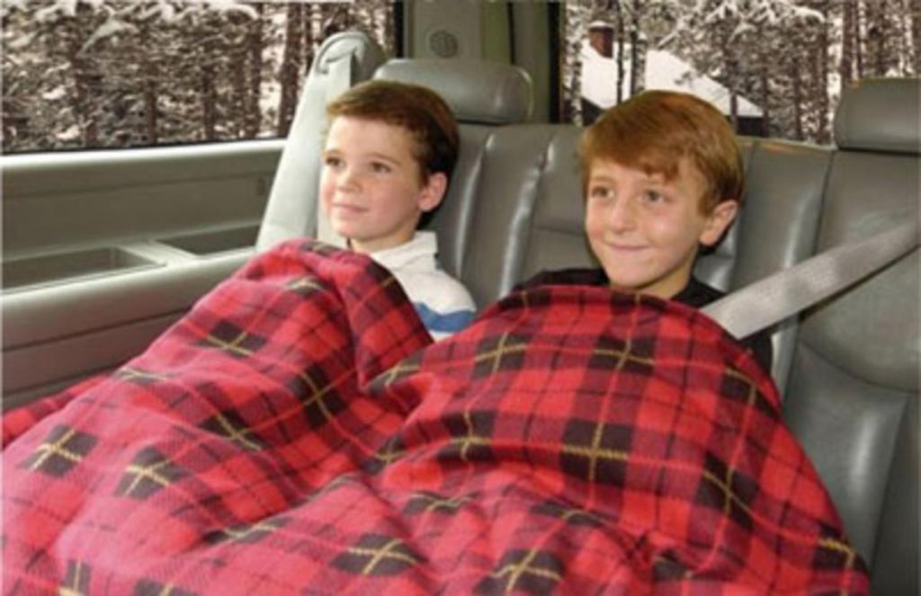 В машине всегда должно лежать теплое одеяло: лайфхак для водителей