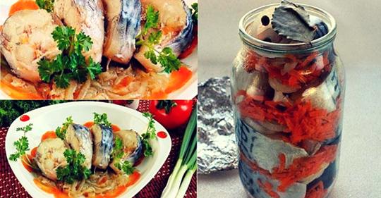 Скумбрия в банке в духовке — блюдо которое покорит всех