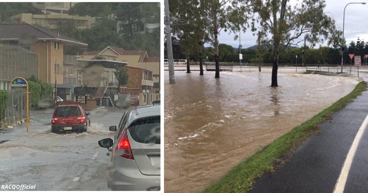 Теперь Австралия страдает ещё и от наводнений