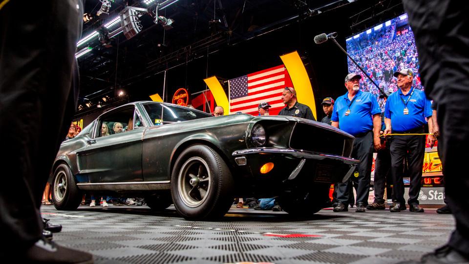 Культовый Ford Mustang 1968 года из боевика «Буллит» был продан за 3,74 млн долларов на аукционе