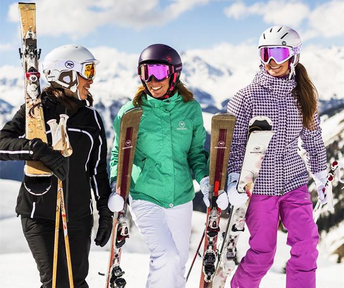 Женские костюмы для горнолыжного спорта 