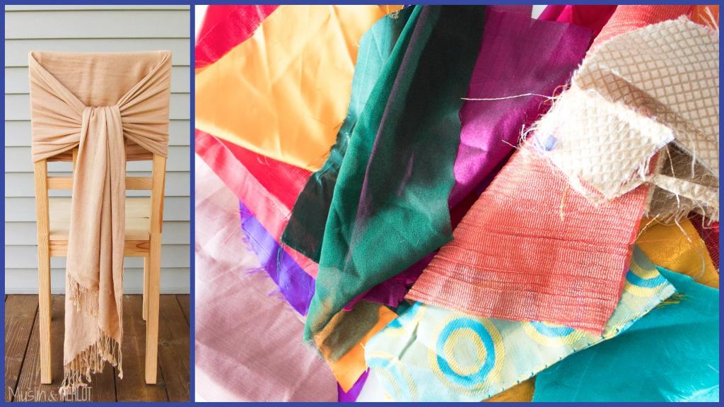 Остатками ткани можно освежить интерьер дома: простые идеи любителям креатива
