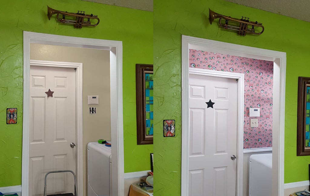 Надоели скучные стены? Отличный способ обновить дизайн квартиры с помощью снимающихся обоев из ткани