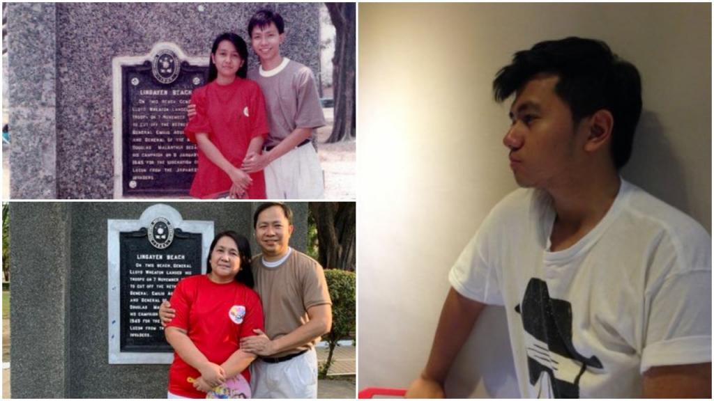 21-летний студент воссоздал фотографию своих родителей, сделанную 28 лет назад