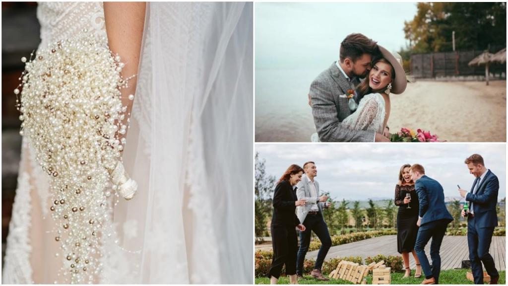 Альтернативный букет невесты, игры и горячий чип бар: самые красивые свадебные тенденции 2020 года