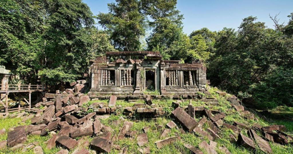 Почему вам стоит посетить Камбоджу: местечко Сиемреап позволит почувствовать себя Индианой Джонсом