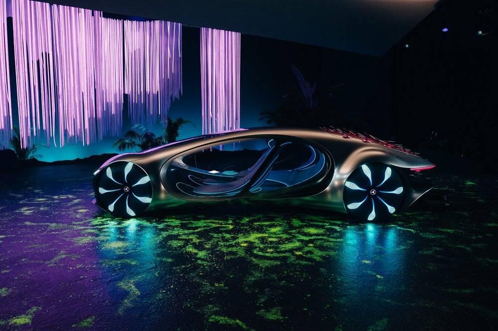Футуристический мерседес и другие интересные автоновинки, представленные на выставке CES