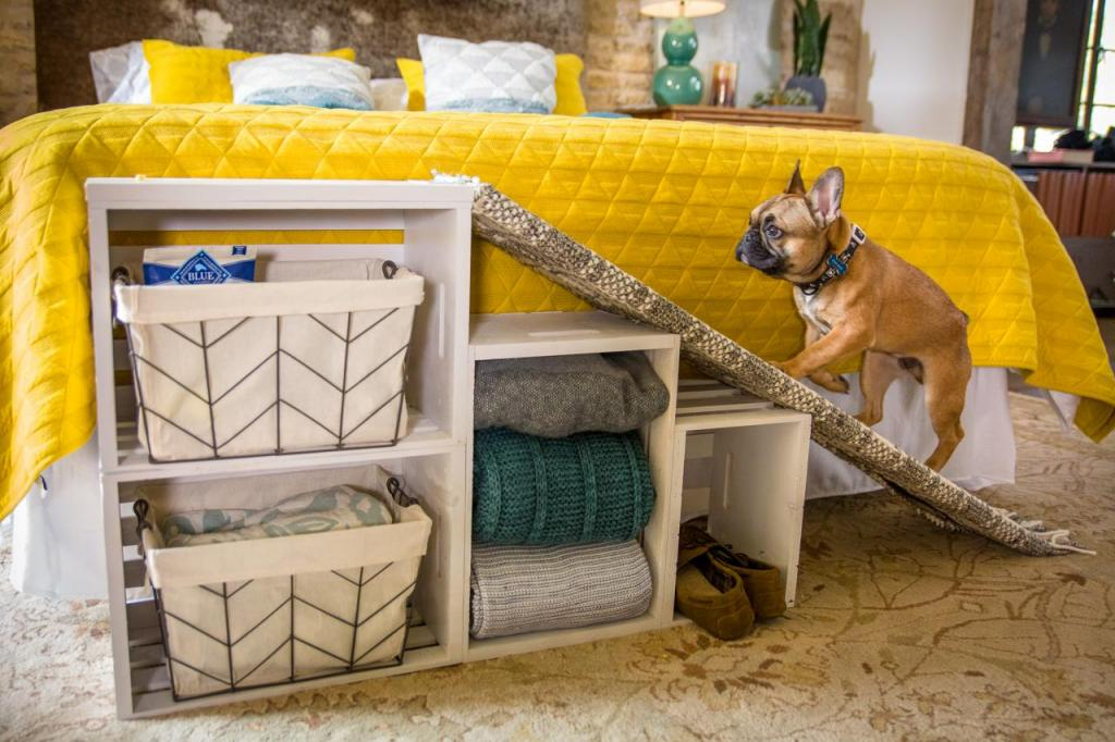 Как сделать удобный и функциональный прикроватный пандус для маленьких собак: пошаговая инструкция