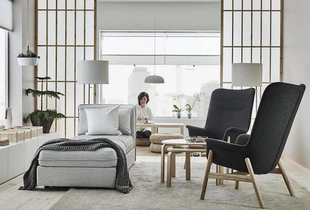 Последний хит в дизайне интерьера - япанди: это комбинация японского и скандинавского стилей
