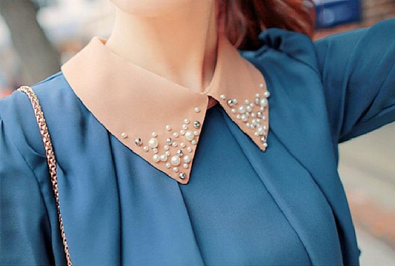 Как красиво декорировать воротничок: модные идеи от стилистов