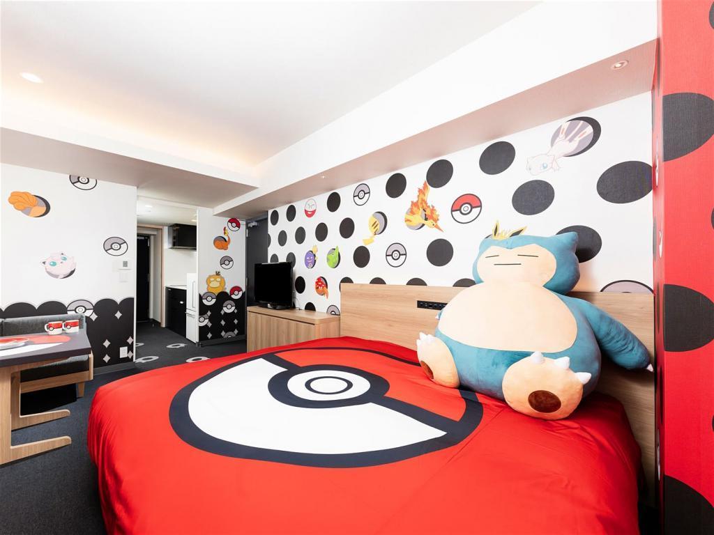 Красочный дизайн и эксклюзивные аксессуары: японские отели оформляют номера в стиле покемонов (фото)