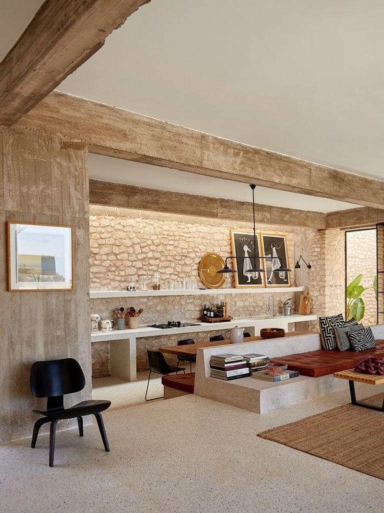 Нейтральная палитра и природные текстуры: как оформить интерьер в современном стиле, который будет напоминать о пустыне
