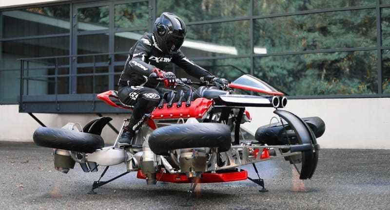 Летающий мотоцикл трансформер выпустят только в 5 экземплярах: можно купить, если есть лишние $ 500 000