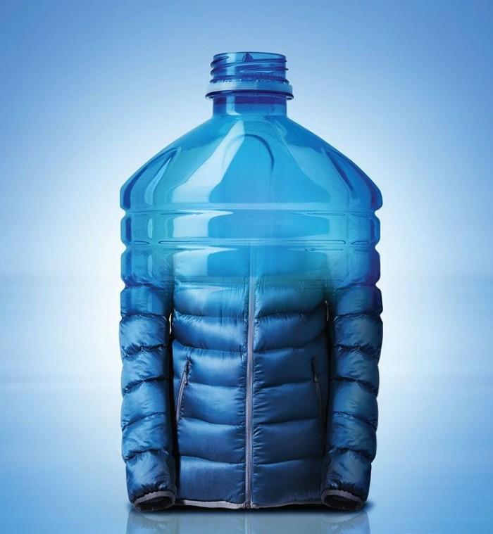 Пластиковые бутылки получают вторую жизнь в виде штанов для йоги, куртки или пары кроссовок. Будущее моды в одном слове: пластмасса