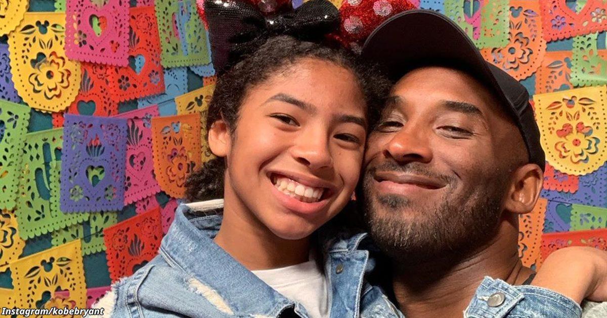 21 фото Коби и Джиджи, доказывающее, что это был идеальный союз отца и дочери