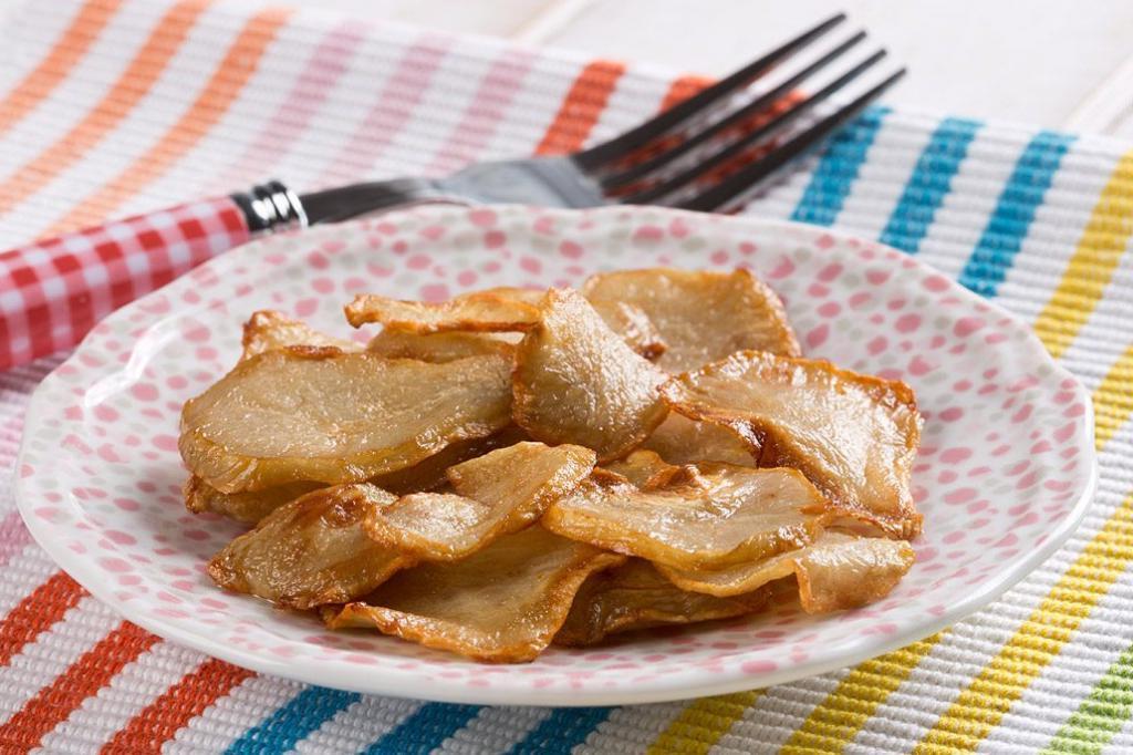 Недавно открыла для себя новое вкусное блюдо: жарим топинамбур в соусе ромеско
