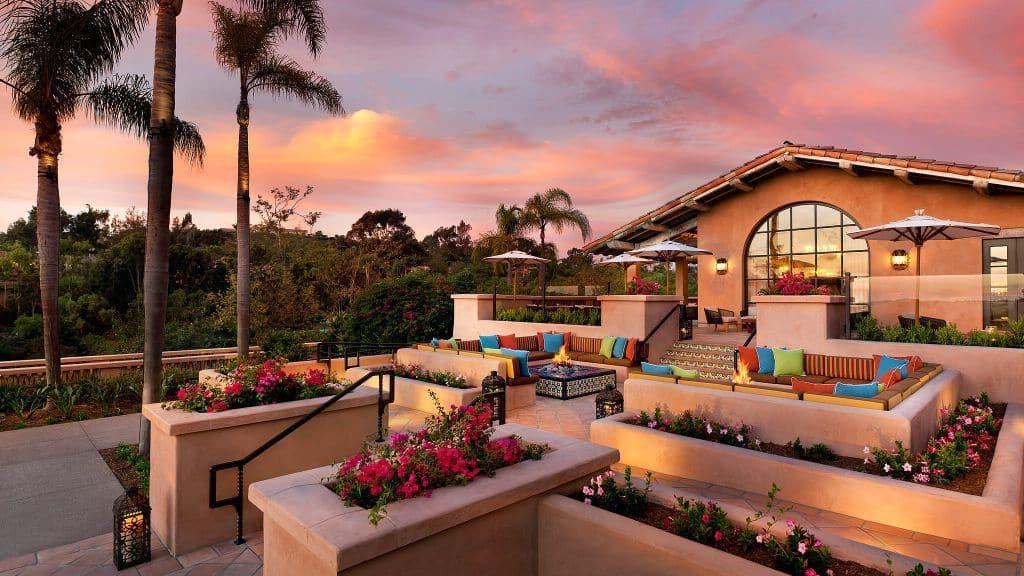 Калифорнийское блаженство: Rancho Valencia - роскошный отель, окруженный прекрасными садами и оливковыми рощами