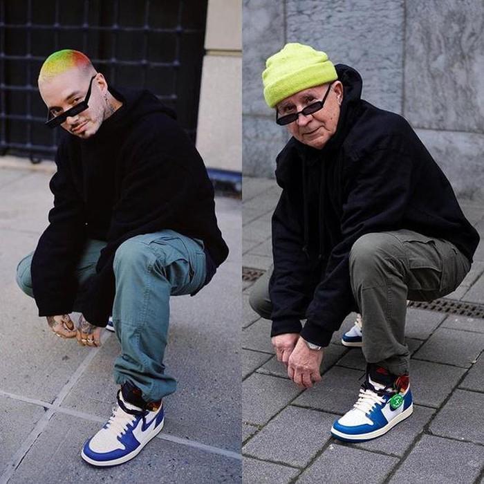 Больше 700 тысяч подписчиков в  Инстаграме : 73 летний дедушка покорил публику молодежным стилем одежды