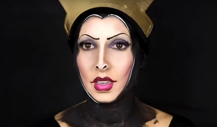 Ну-ка, зеркальце, скажи..: талантливый визажист превратила себя в злую королеву из сказки о Белоснежке