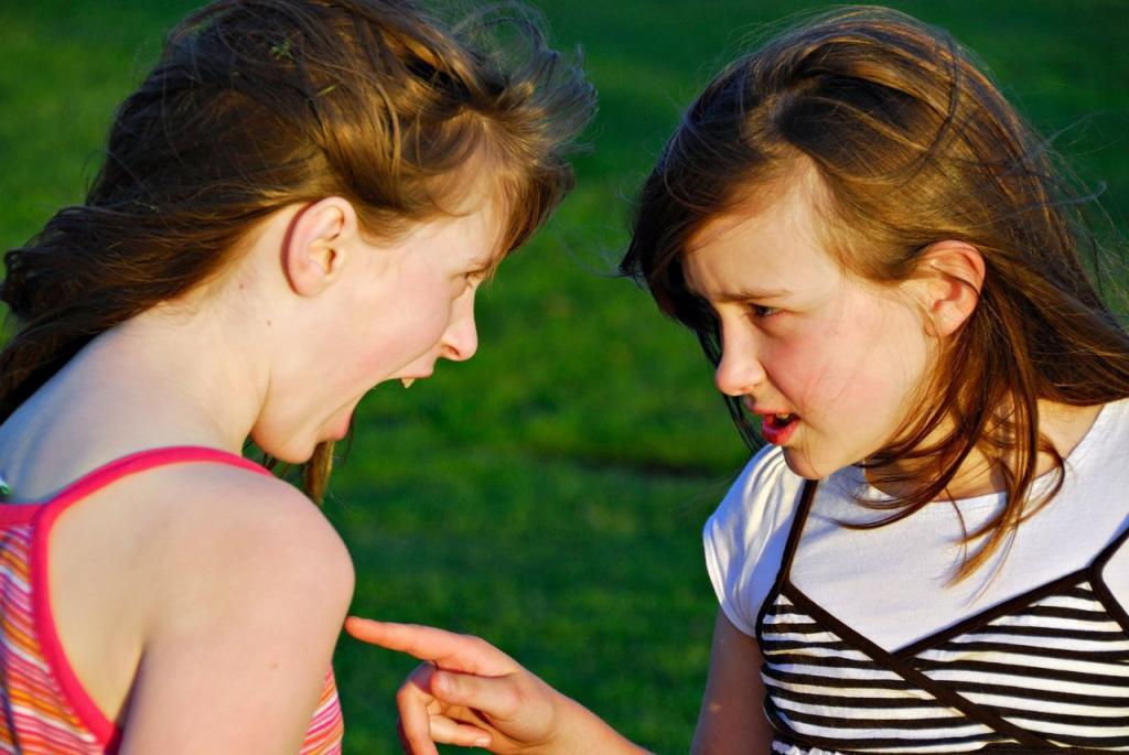 Ссора подростки картинки
