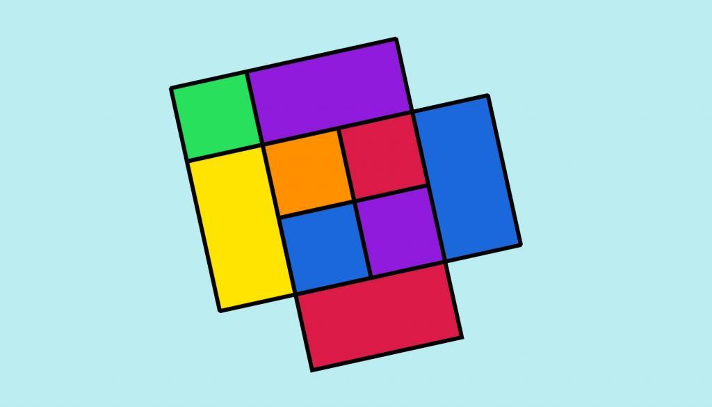 Нужно было как можно быстрее сосчитать квадраты на картинке. Я не смогла (запуталась с четырехугольниками)