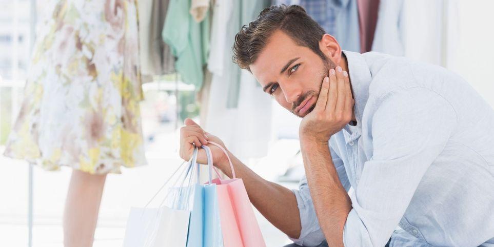 Ты не подержишь мою сумку? : фразы, которые слышит каждый парень, когда делает покупки со своей девушкой