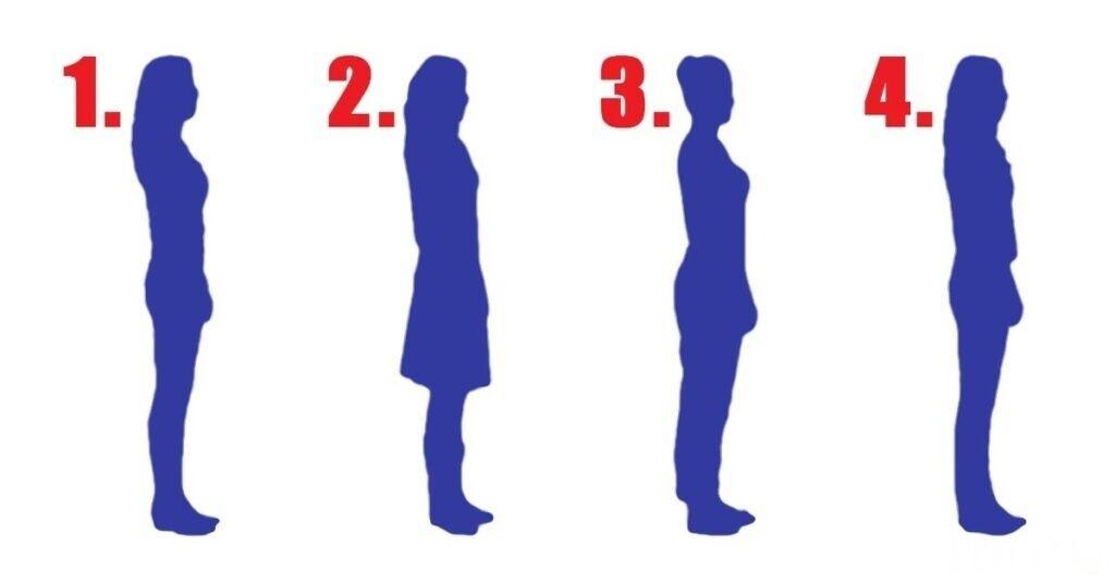 Выберите женский силуэт, который вам ближе, и узнайте, какой вы человек на самом деле