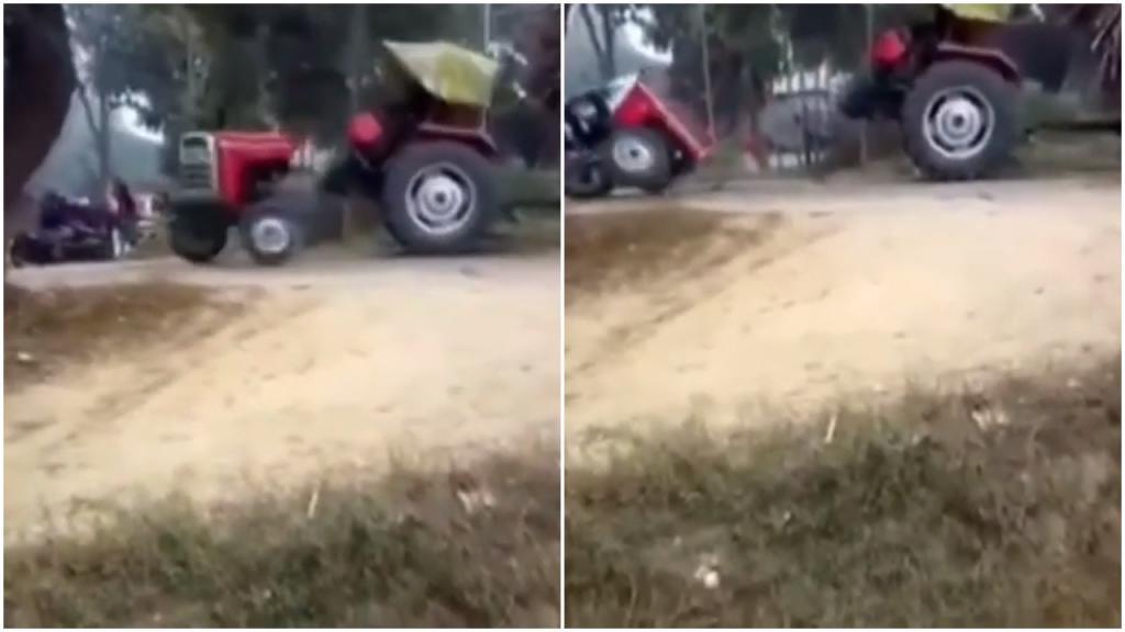 Как поделить трактор? В Индии с этой задачей справились примерно за 20 секунд