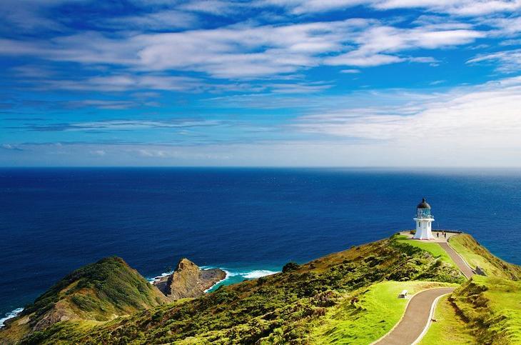 10 самых популярных туристических достопримечательностей в заливе новозеландских островов