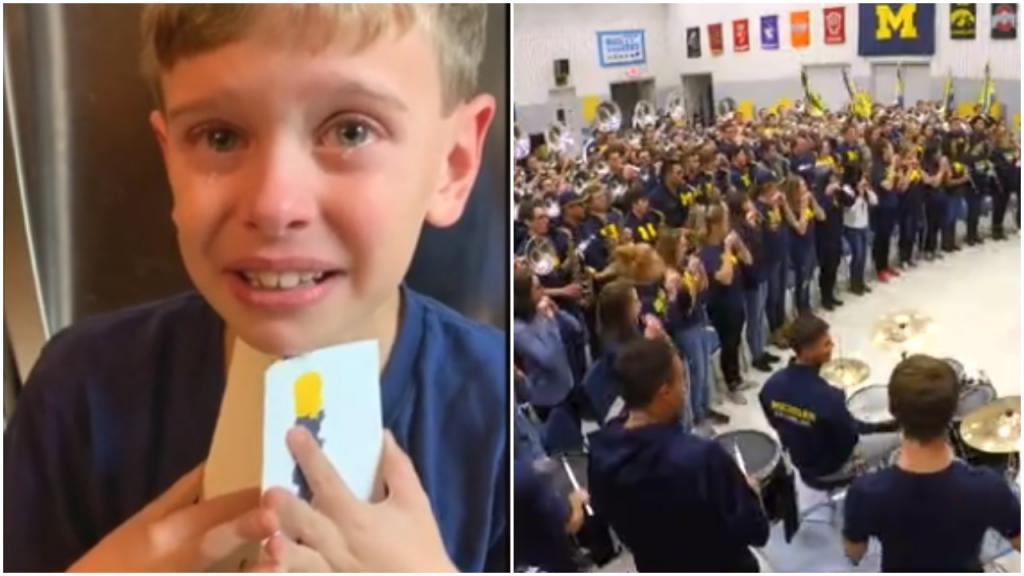 9-летний Генри мечтал играть в Мичиганском оркестре и написал им письмо: его пригласили в гости и приготовили сюрприз
