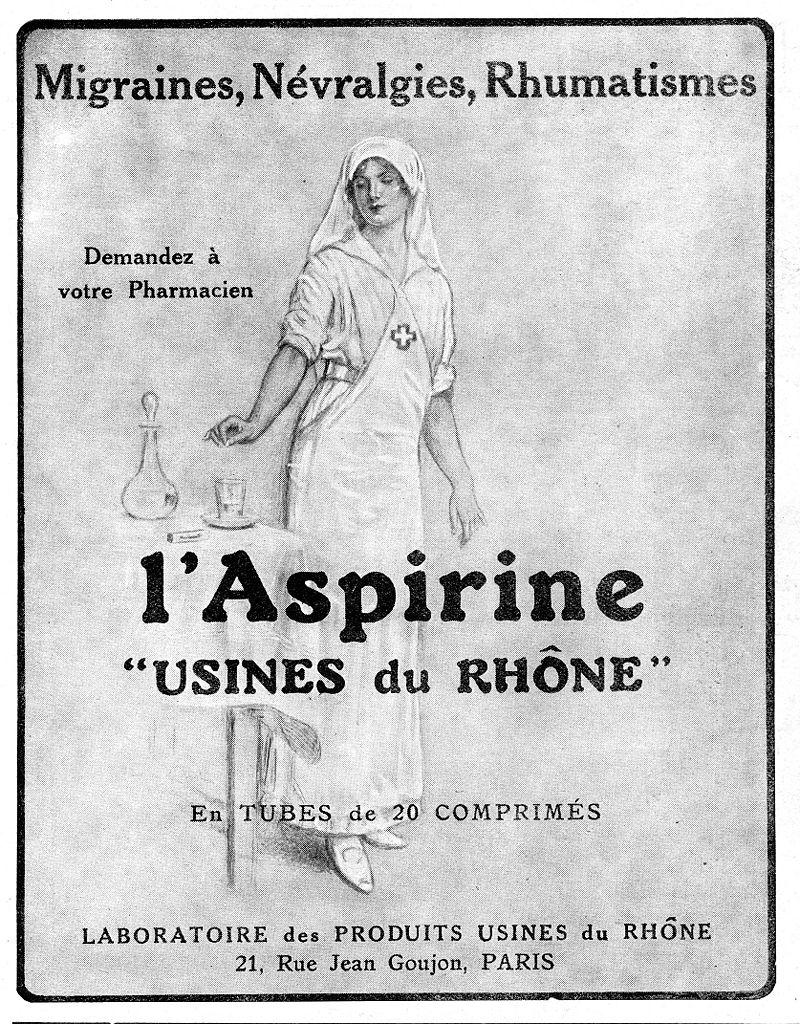Краткая история аспирина действительно захватывает дух
