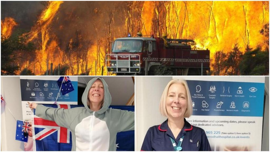 49 летняя Карен Холланд пробежит 10 000 миль в костюме коалы, чтобы собрать деньги для восстановления Австралии от пожаров